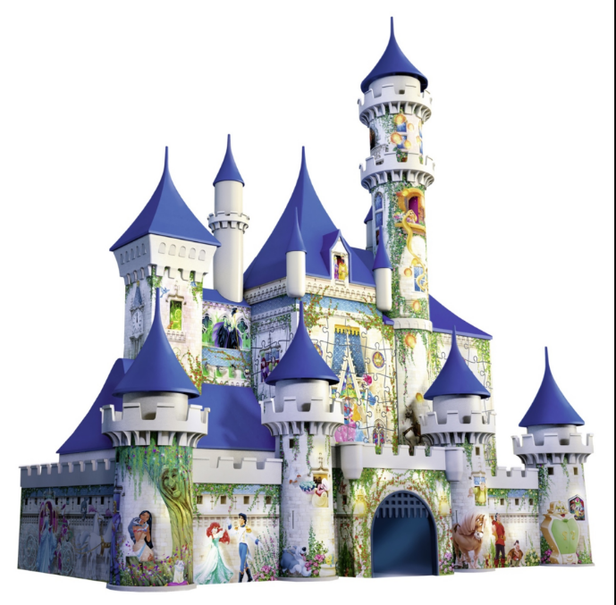 "Ravensburger North America Unveils Guinness World Record Setting ""Memorable Disney Moments,"" the Largest Jigsaw Puzzle in the World1, Plus Disney Princess 3D Castle Puzzle and Exciting New Disney-Themed Games at New York International Toy Fair"